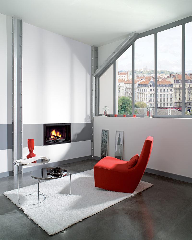atraflam 16 9 600 kamin na drva s ravnim staklom kamin studio. Black Bedroom Furniture Sets. Home Design Ideas