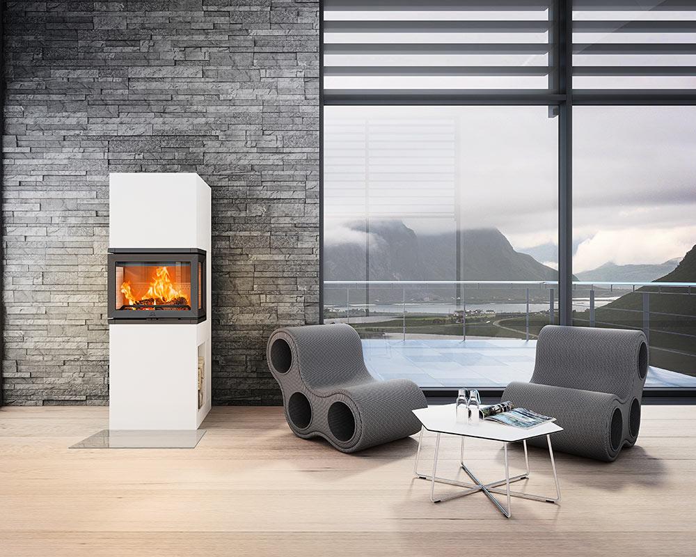 j tul fs 73 kamin na drva s fleksibilnim lo i tem kamin studio. Black Bedroom Furniture Sets. Home Design Ideas