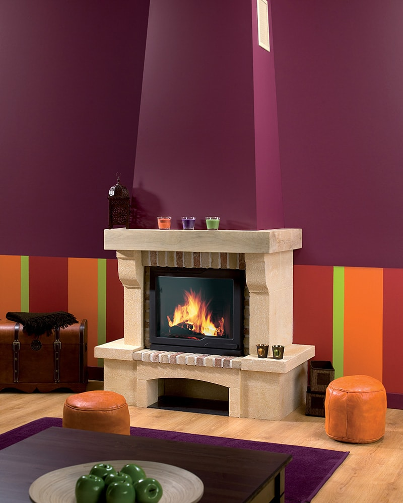 j tul i 530 veliko lo i te za kamin na drva kamin studio. Black Bedroom Furniture Sets. Home Design Ideas